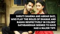 Fight between Gathbandhan co-stars Dhanak and Raghu