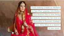 Hina Khan is the Insta Queen for the week