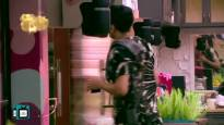 Aarti Singh fights with Vishal and Vikas for household chores