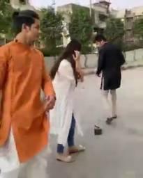 Siddharth Nigam and Jannat Zubair re-create their version of the song 'Haye Garmi'