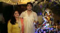 Gaurav S Bajaj & Ragini Khanna turn host for Bappa
