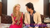 'Firangi Bahu' leads talk about their show to Tellychakkar.com