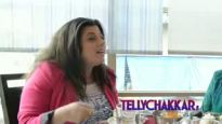 Eating out with Delnaaz Irani