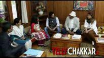 Team of Zee TV's Buddha meet Dalai Lama
