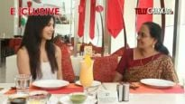 Eating out with Sana Khan