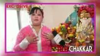 Tellychakkar.                com celebrates Ganesh Chaturthi with Bharti Singh