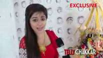 Shout it loud, Ganpati Bappa Mourya with Tina Dutta