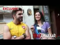 Mihika and Mayank get ROMANTIC on camera