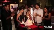 Adaa Khan's Surprise Birthday Bash