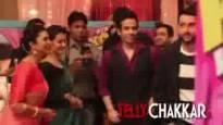Kool Tushar & Aftab on the sets of YHM