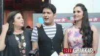 Farah & Sania in 'The Kapil Sharma Show'