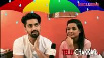 Monsoon fun with Zain and Jasmin