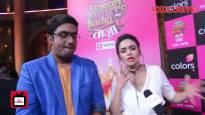 Amruta Khanvilkar & Manan Desai talk about Comedy Nights Bachao Taaza