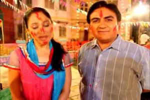 Disha and Dilip share their naughty Holi moments!