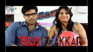 The lovely couple - Kinshuk Mahajan and Divya Gupta
