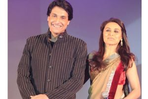 Shiamak and Rani Mukharjee