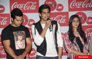 Varun Dhawan,Siddharth Malhotra and Alia Bhatt