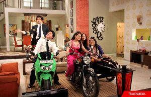 On the sets: SAB TV's Jeannie Aur Juju