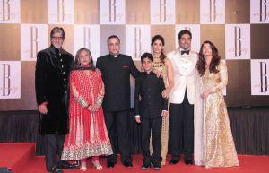 Amitabh Bachchan and Family