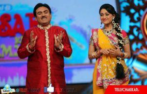 Dilip Joshi (Jetha) and Disha Vakani (Daya)