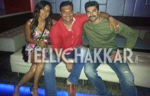 Teejay Sidhu,Dayanand Shetty And Nikitin Dheer