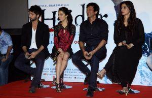 Shahid Kapoor,Shraddha Kapoor ,Kay Kay Menon and Tabu