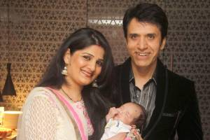 Sooraj Thapar and Thapar's wife Deepti Dhyani