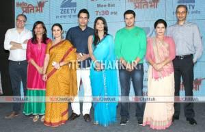 Launch of Zee TV's 'Hello Pratibha'