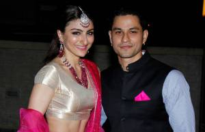 Soha Ali Khan and Kunal Kemmu