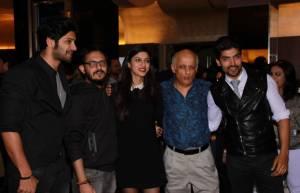 Ali Fazal,Vishesh Bhatt, Sapna Pabbi,Mukesh Bhatt and Gurmeet Choudhary