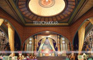 The opulent set of &TV's Razia Sultan