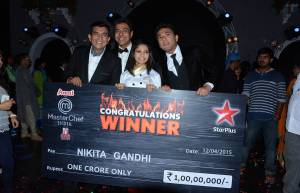 MasterChef Season 4 winner Nikita Gandhi