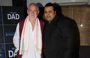 Tom Alter and director Ritesh Sinha