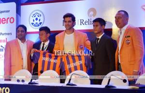 Celebs at Indian Super League Player Auction And Draft