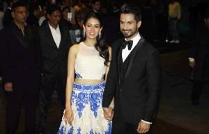 Newly wed couple Shahid Kapoor and Mira Rajput