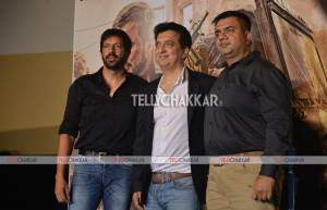 'Phantom' Director Kabir Khan, filmmaker Sajid Nadiadwala and Writer Hussain Zaidi