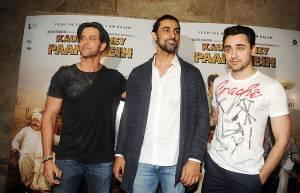 Hrithik Roshan, Kunal Kapoor and Imran Khan