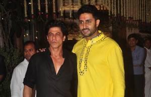 Shah Rukh Khan and Abhishek Bachchan