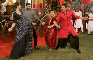 Ranveer and Deepika on Comedy Nights Bachao