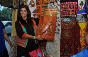 Karuna Pandey on a shopping spree