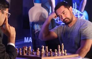 Aamir Khan, the chess master