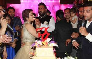 Rashmi Sharma's birthday bash