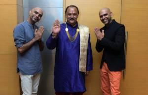 Alok Nath with Raghu Rajiv