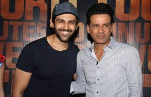 Kartik Aryan and Manoj Bajpayee