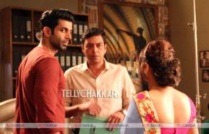 On the sets of Sony TV's Ek Duje Ke Vaaste