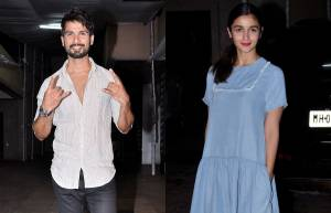 Shahid Kapoor and Alia Bhatt