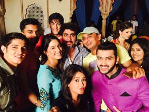 Hina's 'iftaar' part on Yeh Rishta... set