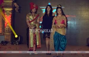 Rajat Tokas, Ekta Kapoor and Shweta Basu Prasad