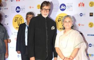 Amitabh Bachchan and Jaya Bachchan