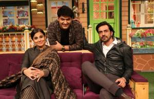 Vidya Balan and Arjun Rampal on The Kapil Sharma Show
